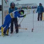 39ος ο Γιώργος Στοΐδης στο σλάλομ,  στο 12ο Χειμερινό Φεστιβάλ Νεότητας