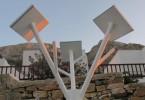 Ένα πρωτότυπο Hλιακό Δέντρο δώρισε στην Σίφνο το Ίδρυμα Ευγενίδου